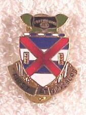 Army DI pin - 13th Infantry Regiment - cb, G23, small motto