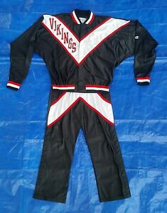 Vintage Champion Jacket Basketball Lafayette Louisiana High School Warm Up Pants