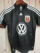 "Adidas DC UNITED Youth Women's Mens 34"" Chest MLS Soccer Jersey Shirt Volkswagen"