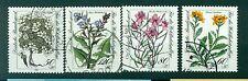 Allemagne -Germany 1983 - Michel n. 1188/91 - Fleurs protégées des Alpes