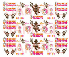 1/64  DONUTS WATER-SLIDE DECALS FOR HOT WHEELS, MATCHBOX