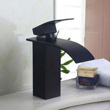 1 Hole Bathroom Single Handle Bathroom Basin Waterfall Faucet Sink Mixer Tap