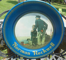Norman Rockwell Looking Out To Sea Metal / Tin Wall Collector Plate Destiny Art