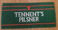 Tennents Pilsner Beer Lager Retro Vintage Pub Bar towel Cloth Runner