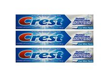3x CREST Tartar Protection Whitening Cool Mint Paste bleichende Zahnpasta 181g