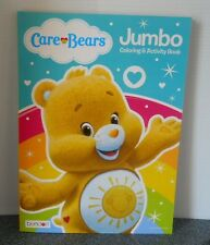 Jumbo Care Bears Yellow Coloring And Activity Book From Bendon Ages 3+ New