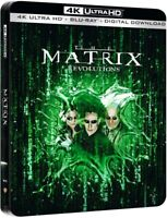The Matrix Revolutions 4K Ultra HD & Blu-ray Steelbook New With Free Delivery