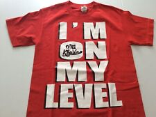 Wiz Khalifa T Shirt Mens Red Gildan I'm On My Level Small