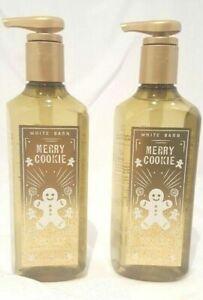 2 Merry Cookie NEW Gel Hand Soap 8 oz Bath & Body Works SHIPS FREE!