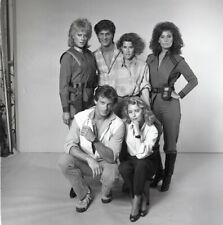 JANE BADLER FAYE GRANT V THE VISITORS CAST ORIGINAL 1984 NBC TV PHOTO NEGATIVE