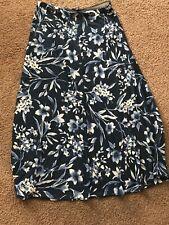 American living Floral Print Maxi Skirt S