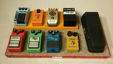 Guitar Pedalboard 8+1 Bright Red with Case