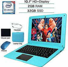 Fast Cheap 10.1 Windows 10 Laptop Intel Quad Core 32GB ROM PC SSD HDMI WIFI USB