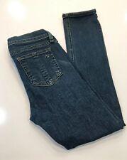 Rag & Bone Jean Womens Distressed Capri Cropped Jeans Blue Size 26