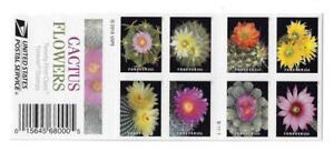 US SCOTT 5350 - 5359 PANE OF 20 CACTUS FLOWERS STAMPS MNH