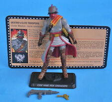 GIJOE OKTOBER GUARD IRON GRENADIER JOECON LOOSE COMPLETE