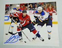 Nathan Walker Autographed 8x10 Photo Washington Capitals Signed
