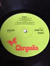 Jethro Tull Benefit First Press vinyl record