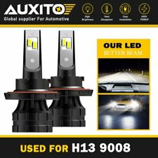 AUXITO H13 9008 LED Headlight Bulb Hi Lo 20000LM 6000K White for Nissan Sentra