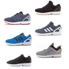 REGNO Unito misura 4 Adidas Originals ZX Flux Scarpe da ginnastica a torsione Camouflage