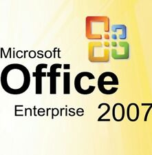 MS MICROSOFT OFFICE 2007 ENTERPRISE  ORIGINALE DEUTSCHE VOLLVERSION, TOP!!!