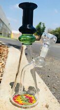 Hookah Water Pipe Glass Bong 8 inch Sticker Beaker Base Smoking Pipe