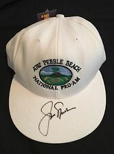 JACK NICKLAUS SIGNED GOLF AT&T PEBBLE BEACH NATIONAL PRO-AM HAT AUTO AUTOGRAPH