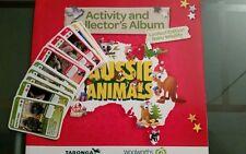 Woolworths Aussie Animals (Baby Wildlife) Collector album + 36 cards complete