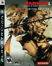 Metal Gear Solid 4: Guns of the Patriots - Limited Edition - Playstation 3 Game