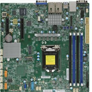 SuperMicro 11SSH-TF Intel LGA 1151 DDR4 Mainboard Motherboard mit I/O Blende
