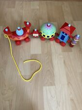 Large Ninky Nonk Wobble Train Pull Along Toy