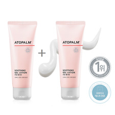 Atopalm Mle Soothing Gel Lotion 120ml 4.05oz x 2ea Sensitive Skin Free Tracking