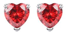 "Disney Descendants Evie Red Heart Mini 1/4"" Stud Earring Set"