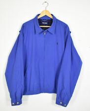 Vintage Polo Ralph Lauren Blue Harrington Chaqueta De Bombardero Chaqueta Tamaño XXL