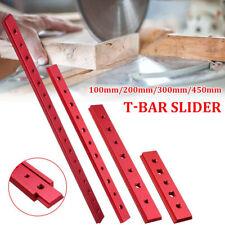 Asta di spinta per sega da tavolo dritta barra di spinta per sega da legno di sicurezza rossa per fresa per sega da tavolo da carpenteria