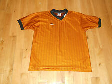 VINTAGE ADIDAS RINGER TREFOIL SHIRT MENS SIZE MD SOCCER FUTBOL FOOTBALL REFEREE