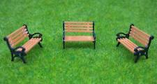 YZ87 10pcs Model Train HO TT 1:87 bench chair settee