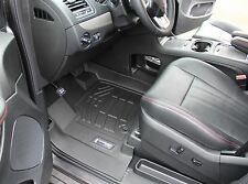 Front Row Floor Mats in Black for 2012 - 2017 Dodge Grand Caravan