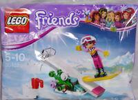 Lego Friends Promo Polybag 30402 Stephanies's Snowboard Tricks RAR NEU