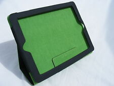 NUOVO Lente Designs ® Armour DOG iPad 2, 3 e 4 Cover iPad Nero e Verde