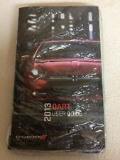 NEW SEALED 2013 Dodge Dart Owner's Owners Manual Books User Guide Literature