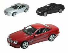 Welly 1/18 Mercedes-Benz SL500 Diecast Model Avail in 3 Colors (Choose 1)