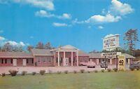 Macon Georgia GA 1960s Postcard Heritage Motel