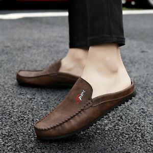 Driving Walking Moccasin Flat Shoes Home and Leisure New Men's Fashion Slippers
