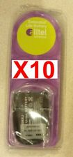 Lot Of 10 Brand New Lg Ax140 145 Ax145 Extended Battery With Door