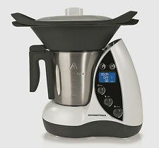 Multikocher Gourmet maxx Thermo-Multikocher 9in1, 1500 W, weiß / schwarz Kocher