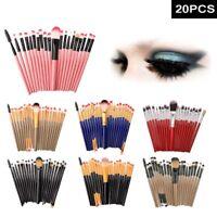 20/12 Pro Makeup Brushes Set Foundation Powder Eyeshadow Eyeliner Lip Brush Tool