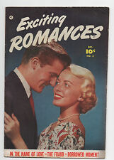 Fawcett Exciting Romances #6 1951 Golden Age Romance Comic
