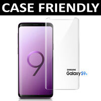 For Samsung Galaxy S9 Plus 100%  3D Tempered Glass Screen Protector Clear