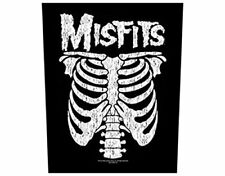 MISFITS - RIBCAGE - BACK PATCH - BRAND NEW - MUSIC BAND 0792